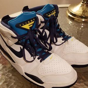Nike Air Flight Falcon White / Blue,  Basketball